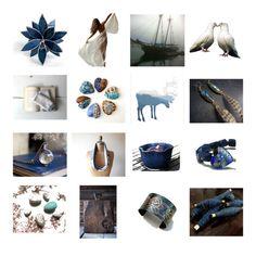 """Indigo Blue"" by dorataya ❤ liked on Polyvore featuring interior, interiors, interior design, home, home decor, interior decorating, Hansen, Lazuli, Blue and dorataya"