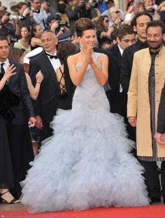 Kate Beckinsale on the red carpet in Cannes