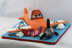 Planes' Dusty cake from Art Cakery in Brussels