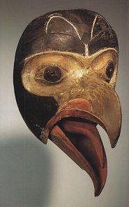 Eagle mask, Haida nation