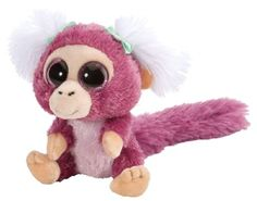 Pomegranate Marmoset: Li'l Sweet & Sassy - Starry Eyes (5-inch) at theBIGzoo.com, a toy store with over 12,000 products.