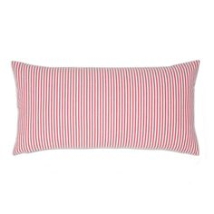 Red Seersucker Throw Pillows   Great site for decorative pillows and bedding   www.craneandcanopy.com