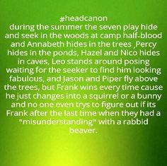 Percy Jackson headcanon- gabriella stokes