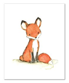 Love this Foxy Print by trafalgar's square on #zulily! #zulilyfinds