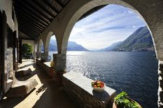 Lakefront villa with stunning views, pool and boat house on Lake Como, Italy