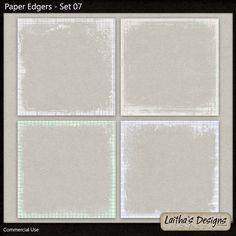 Paper Edgers Set 07