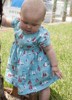 baby fashion. sailor dress. super sweet.