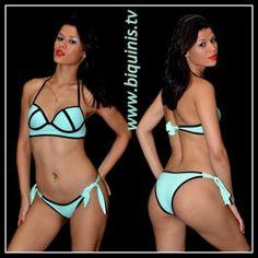 Biquíni IT GIRL 3D Green com bojo Ref.12319 Tamanhos P,M e G.
