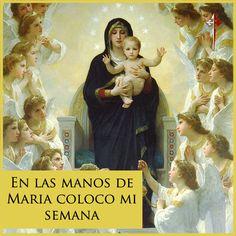 Bendecida semana! Entreguemos todo y dejemos todo en las manos de María