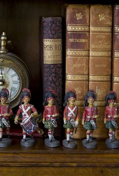Elastolin Scottish Toy Soldiers - I still want some of these toy soldiers