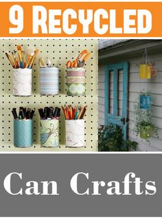 9 Recycled Can Crafts