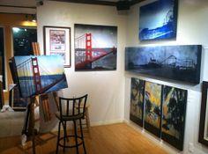 Nichole McDaniel art - Village Gallery, Laguna Beach, CA