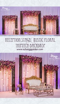 Top 24 Most Dazzling Wedding Stage Decoration That You Haven't Seen Reception Stage Decor, Wedding Backdrop Design, Desi Wedding Decor, Wedding Hall Decorations, Wedding Stage Design, Wedding Reception Backdrop, Wedding Mandap, Wedding Receptions, Arch Wedding
