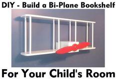 bi-plane bookshelf