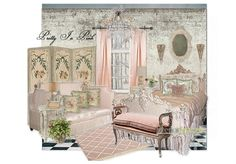 Pretty In Pink by interiorspaces | Olioboard