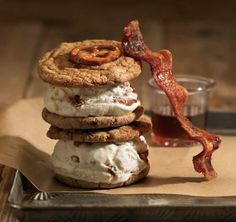 We're officially protesting Fall's arrival with this brown butter candied bacon ice cream sandwich recipe from COOLHAUS, the architecturally-inspired gourmet dessert company!