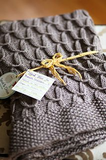Sugarplums blanket by Danielle Chalson
