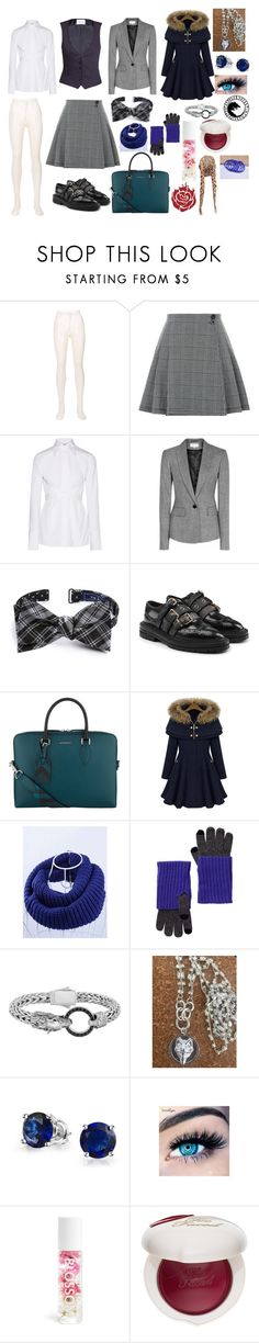 """""""Sky Fenrir: Alsius combat school"""" by okamikun ❤ liked on Polyvore featuring Philosophy di Lorenzo Serafini, Helmut Lang, PALLAS, The Tie Bar, Burberry, WithChic, Amicale, Phillip Gavriel, Bling Jewelry and MINX"""