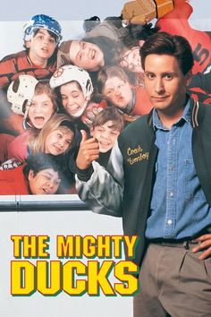 [1992 Movies]  The Mighty Ducks (1992) [Full Movie] Online DVD