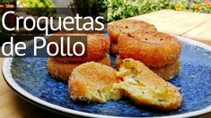 Receta de croquetas de Pollo  #croquetasdepollo #pollo #croquetas #pasabocas Cornbread, Baked Potato, French Toast, Potatoes, Baking, Breakfast, Ethnic Recipes, Food, Homemade Recipe