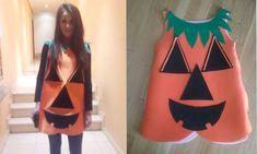 DIY: Disfraz de Calabaza #disfraz #carnavales #carnaval
