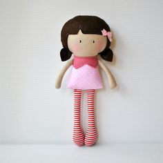 My Teeny Tiny Doll Rosy - Made to Order