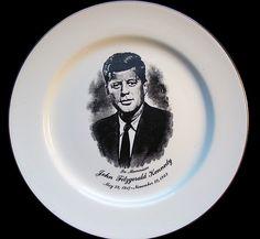 jfk funeral pinterest | JFK Memorial Plate | JFK KENNEDY EBAY AUCTIONS | Pinterest