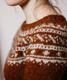 fair isle and color combination