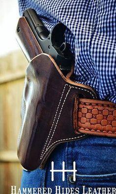 hammered hides leather-SR