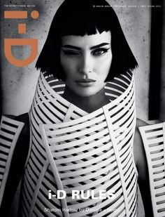 i-D Magazine Spring 2012 Nine Covers (March 2012) (i-D Magazine) [] In this picture: Shalom Harlow [] Credits for this picture: Daniele Duella and Iango Henzi (Photographer) , Patti Wilson (Fashion Editor/Stylist) , Luigi Murenu (Hair Stylist) , Stephane Marais (Makeup Artist)
