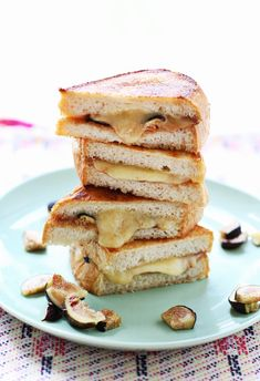 Fancy grilled cheese from A Beautiful Mess