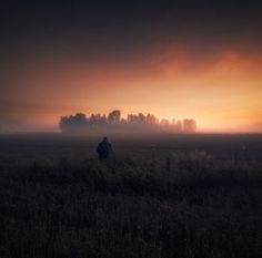 In the misty morning when the sun is rising when the whole sky is red like blood man can realize the real meaning of life. -Amorphis  #amorphis #misty#morning #field#sunrise #fog#finland#ig_finland #sky#blood #man #colorful #mood#mystical #ig_mood by mika_suutari