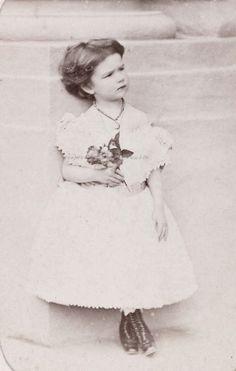carolathhabsburg:  Archduchess Marie Valerie of Austria. Early 1870s,