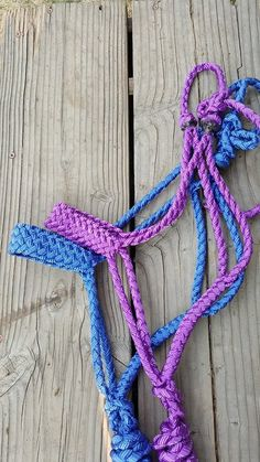 Braided Muletape Halter 8 Strand by CrossfireHalters on Etsy Western Tack, Western Saddles, Pink Pistol, Clothes Horse, Horse Clothing, Horse Information, Rope Halter, Lead Rope, Barrel Racing Horses