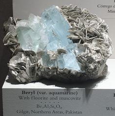 FineMineralBlog / Smithsonian Museum of Natural History Collection: Beryllium Mineral Case