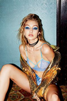 Gigi Hadid by Carin Backoff for Love Magazine Spring/Summer 2016