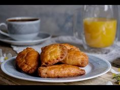 Τυροπιτάκια με γιαούρτι | justlife - YouTube Sweet Potato, Sausage, Potatoes, Meat, Vegetables, Food, Youtube, Sausages, Potato