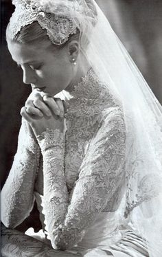 Gorgeous Grace Kelly-my favorite bride of all time