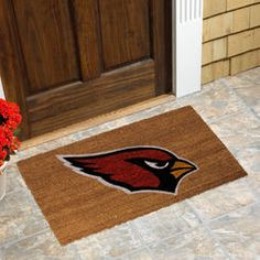 Arizona Cardinals Logo Coir Door Mat