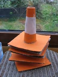 Home Made Traffic Cones