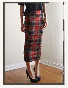 Really like this.  asos plaid pencil skirt