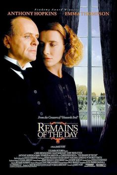 "Anthony Hopkins, Emma Thompson in ""Remains of the Day"" - great film"