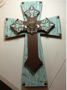 Flourish cross