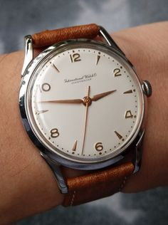 Superb Vintage IWC Calibre 89 In Stainless Steel - http://omegaforums.net