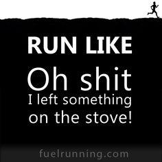 Oh shit! Run!!