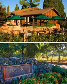 Rochioli Vineyards & Winery - located in Healdsburg open from 11-4pm thur-mon, free tasting, pretty picnic area, need to call ahead for tuesday & wednesday tastings.