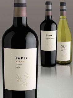 tapiz winery reserve label design wine / vinho /vino mxm