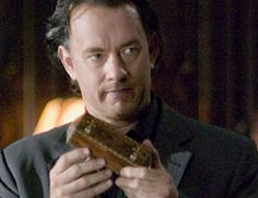 Tom Hanks as Dan Brown's symbologist Robert Langdon