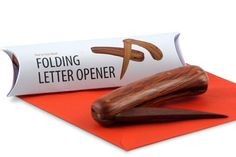 Buy She Oak & Jarrah Folding Letter Opener Online | Australian Woodwork