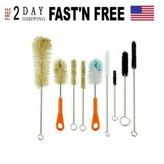 ProTool brush set have natural boar bristles and stiff and soft bristles. This ultimate ProTool Brush set will do it all. 9 brushes - each one unique size and shape for hard-to-clean bottles, dispensers & more. How To Clean Bong, Clean Bottle, Glass Pipes, Cleaning Kit, Brush Cleaner, Bongs, Brushes, How To Apply, Store